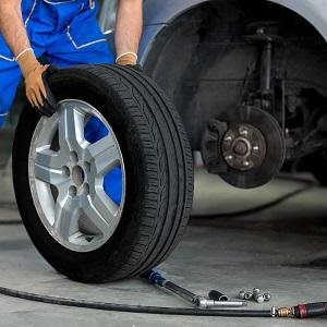 Снятие и установка колес